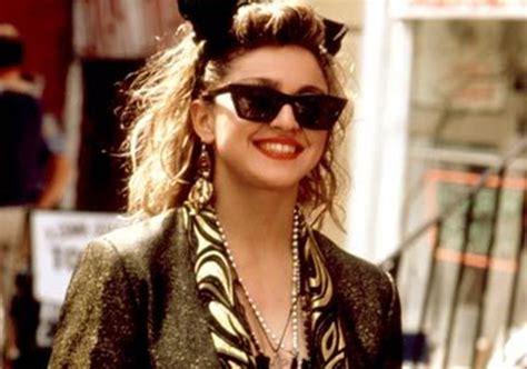 imagenes de uñas rockeras madonna 80 s icon as fashion leader hot fashion tips