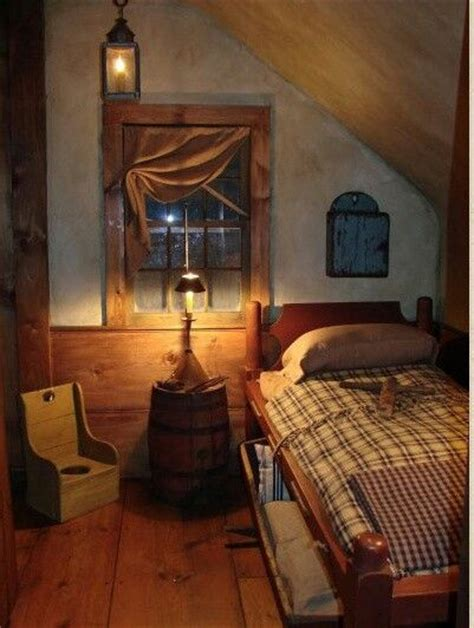 primitive bedrooms looks like an old attic bedroom primitive decor it