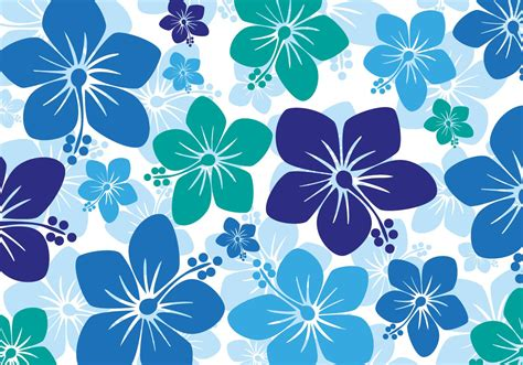 hawaii pattern background free hawaiian hibiscus background vector seamless