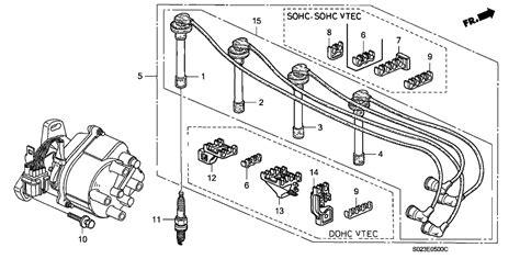 1999 honda civic spark plugs wiring diagrams repair