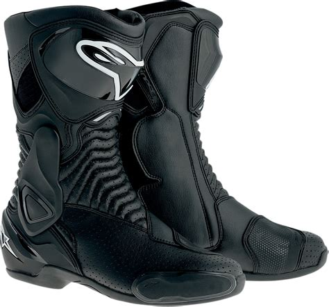 motorcycle street riding boots alpinestars s mx 6 vented street riding motorcycle boots