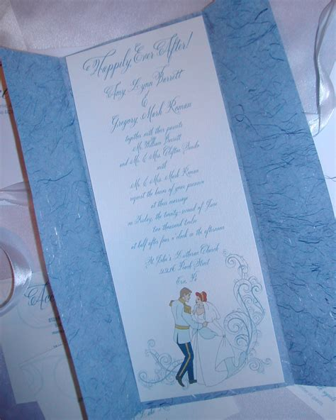 cinderella themed wedding invitation lettering studio