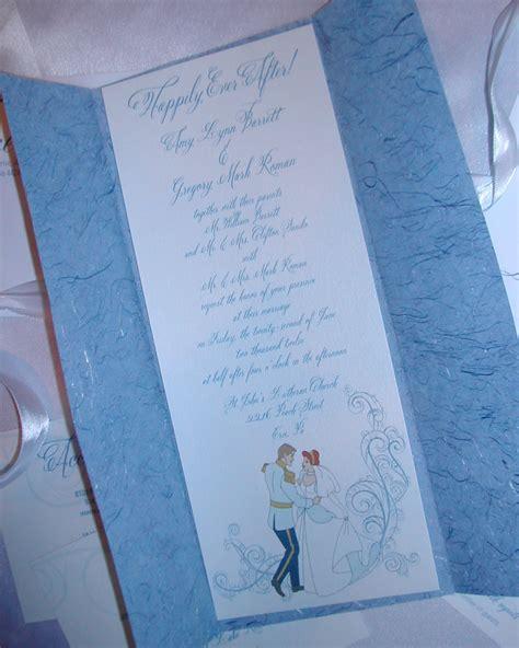 cinderella themed invitation lettering studio