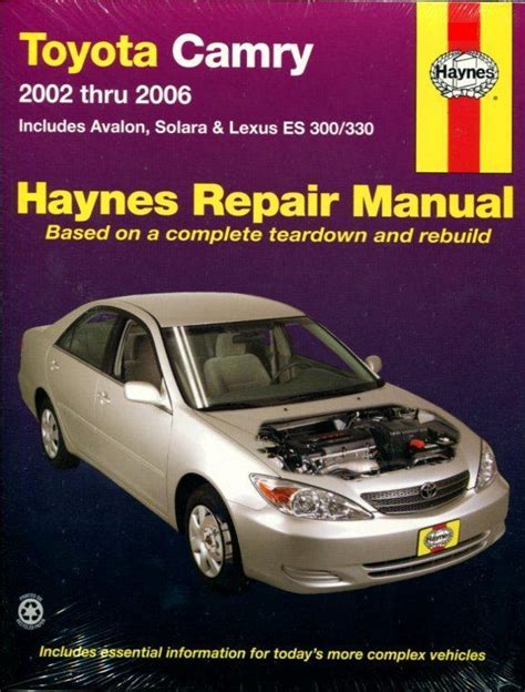 car repair manuals download 2001 toyota solara transmission control shop manual service repair avalon toyota haynes book ebay