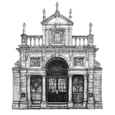 design is in the details my photorealistic drawings of european buildings bored panda