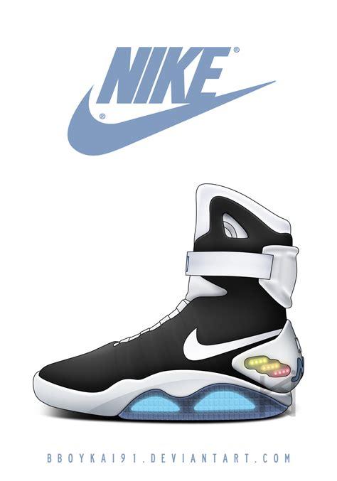Imagenes Nike Mag | nike mag black white by bboykai91 on deviantart
