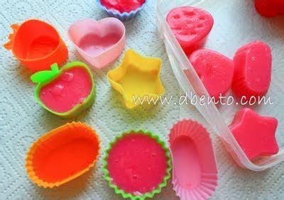 Cetakan Jelly Agar Agar Puding Cetakan Bento Untuk Anak Anak bento mania memanfaatkan foodcup untuk cetakan agar agar