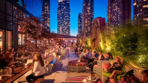 top rooftop bars in nyc rooftop bar new york hotel yotel