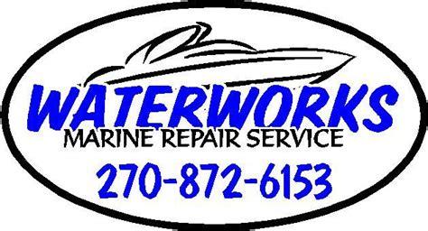 waterworks logo from waterworks boat repair in - Boat Repair Taylorsville Ky