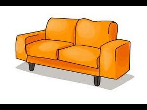 sofa drawing how to draw a sofa