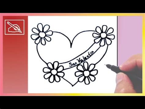 dibujar flores faciles paso paso inittowinitorg dibujando videolike