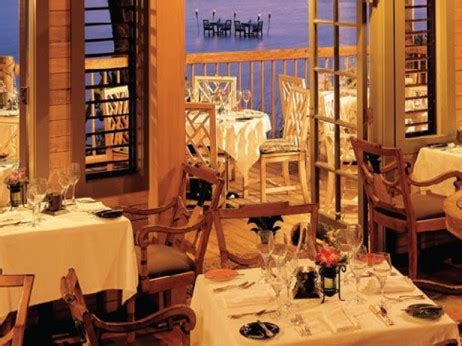 the dining room at palm island your 7 day cruising itinerary for a trip on the florida page 7 of 8 elite traveler