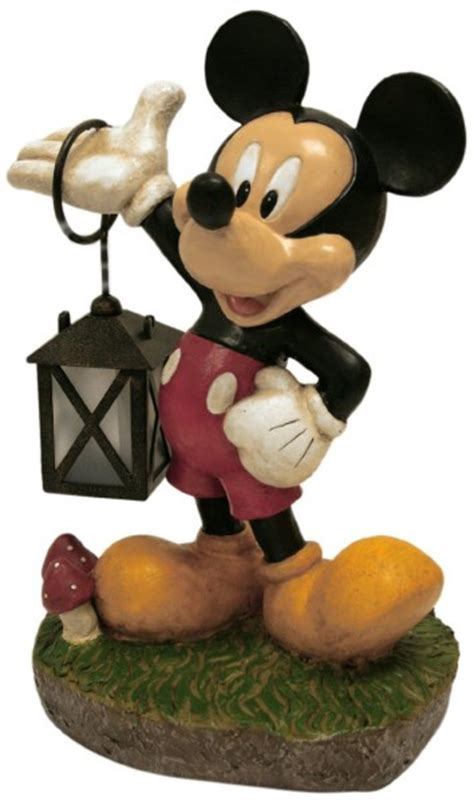 Mickey Mouse Garden Statue by Mickey Mouse Solar Powered Garden Statue Mickey Fix
