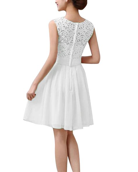 Sleeveless Dress Intl lace sleeveless princess wedding formal