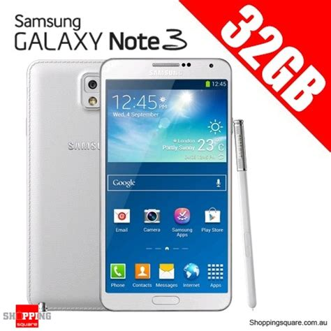 3 3g 32gb samsung galaxy note 3 n900 3g 32gb smart phone white note iii shopping shopping