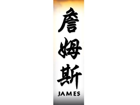 tattoo the name james james in chinese james chinese name for tattoo