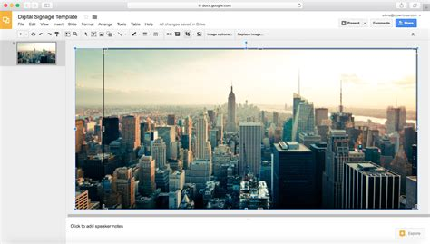 How To Create Digital Signage Templates With Google Slides Or Canva Crowntv Tv Signage Templates