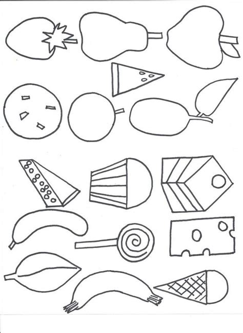 free printable coloring pages very hungry caterpillar caterpillar color page az coloring pages