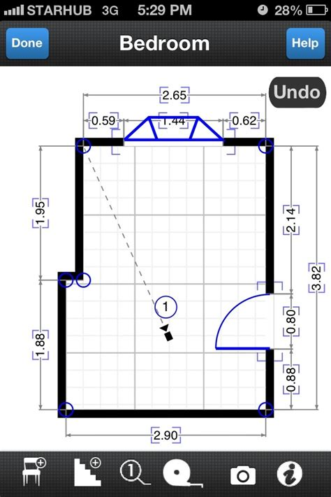 iphone apps  draw  floor plan adrian video image