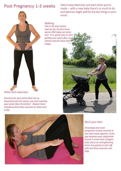 17 best images about post pregnancy exercise on