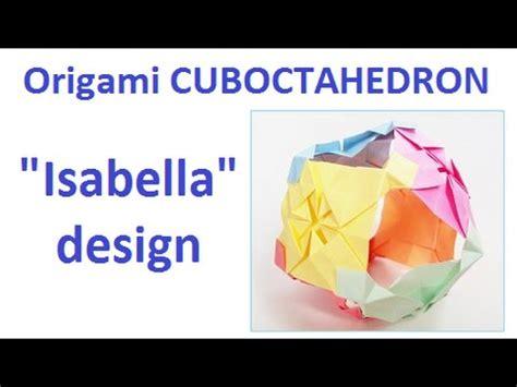 Origami Cuboctahedron - origami cuboctahedron