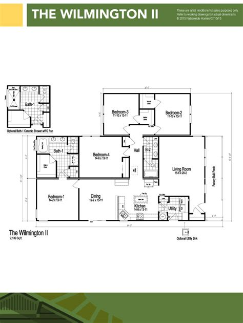 100 modular floor plans ranch wilmington ii 4 bedroom modular homes in hstead nc modular homes jacksonville
