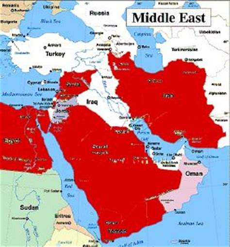 middle east america map the facts on the ground american digest