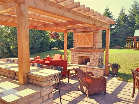100 outdoor patio with fireplace 3 fireplaces custom
