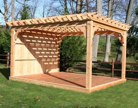 How To Build A Freestanding Pergola On A Deck Pergola How To Build A Free Standing Pergola