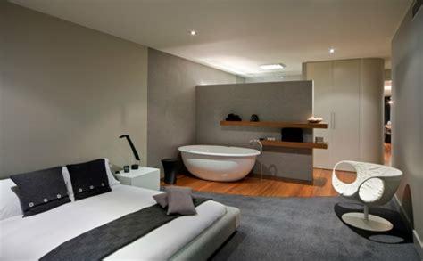schlafzimmer mit bad einrichtungsideen im schlafzimmer die neusten trends f 252 r