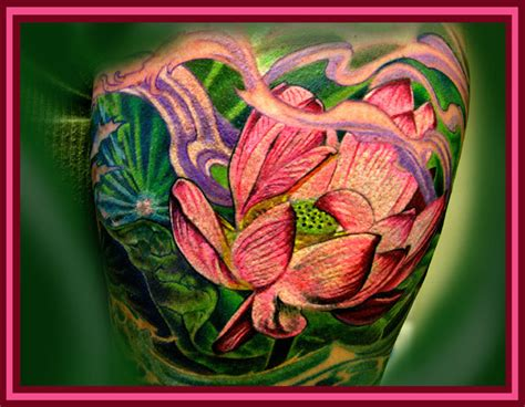 lotus land tattoo lotus land by litos tattoonow