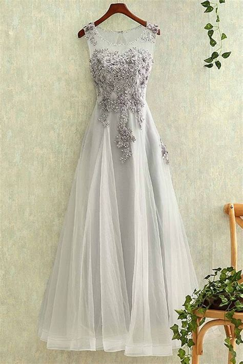 light gray formal dresses charming light grey prom dresses tulle and