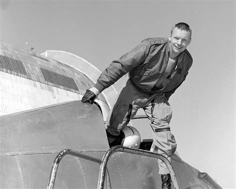 early life neil armstrong neil armstrong in nasa ames bell x 14 aircraft nasa