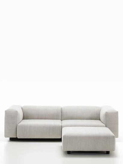 zweisitzer sofa mit ottomane marke vitra