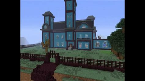 How To Find Blueprints Of Your House Minecraft Old Map Addams Family Mansion 1st Version
