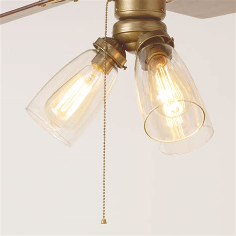 Ceiling Fan With Light Fixture by Ceiling Lighting Ceiling Fan Light Globes