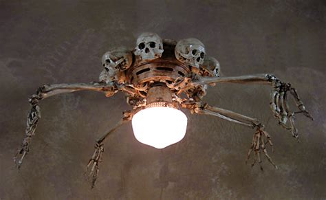 Skull Ceiling Fan by Skeleton Arm Ceiling Fan W Skulls Prop Human