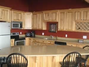 Natural Hickory Kitchen Cabinets natural hickory kitchen cabinets kitchenidease com