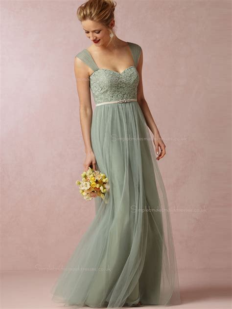Bridesmaid Dresses Uk by Shop Custom Green Floor Length A Line Bridesmaid Dresses
