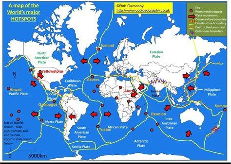 earthquake hotspots plate tectonics mapping activity my blog