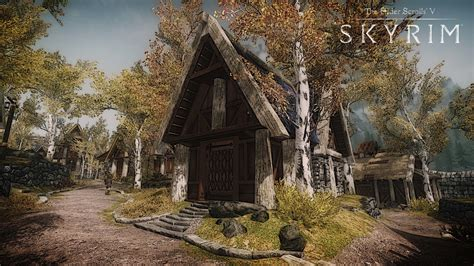 House In Whiterun by Image Gallery Skyrim Breezehome
