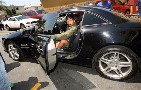pacquiao car collection manny pacquiao s car collection vs floyd mayweather s