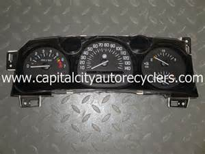 2002 Buick Lesabre Instrument Cluster 2000 2001 2002 2003 2004 2005 Buick Le Sabre Insturment