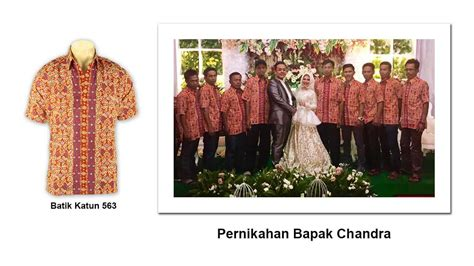 Baju Dinas Merk Chandra pusat grosir seragam batik baju batik kain batik batik tanah abang