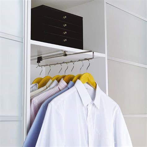 Pull Out Wardrobe Rails by Pull Out Wardrobe Rail Venace