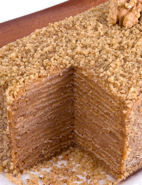 Torta Panqueque Manjar Receta | torta panqueque nuez manjar la punta