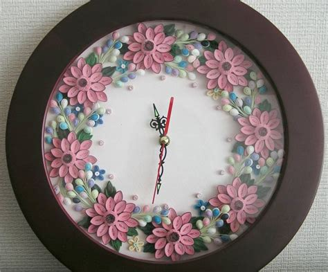 quilling clock tutorial 89 best quilling images on pinterest paper quilling