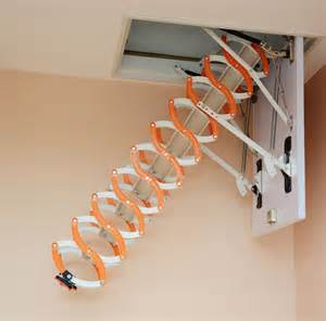 household aluminum telescopic ladder staircase thickened the attic ladders buy telescopic