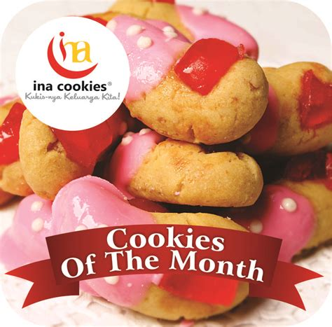Ina Cookies Reguler cornflakes cherry cookies of the month desember 2013