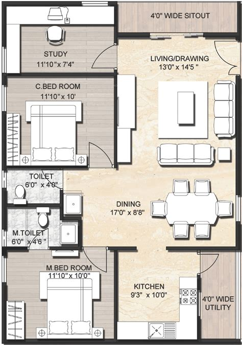 indian house plans for 1200 sq ft ijm india infrastructure tree park willows grande floor plan sq ft indian house showy plans